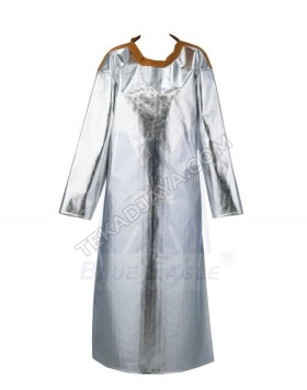 Aluminized Apron With Sleeves