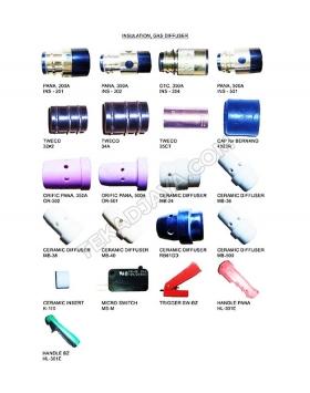 Insulation Gas Diffuser