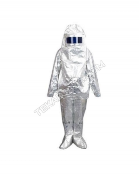 Aluminized Fireman Suit