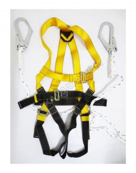 Full Body Harness Double Lanyard