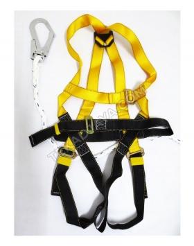 Full Body Harness Single Lanyard