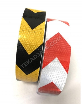 Sticker Reflective Barricade Tape