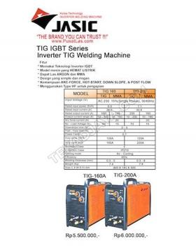 TIG Welding 160-200