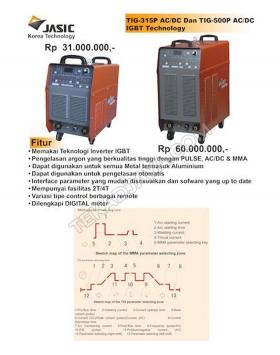 TIG Welding 315-500 AC/DC