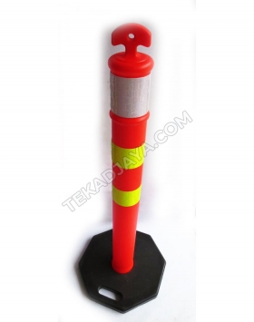 Traffic Pole Rubber base