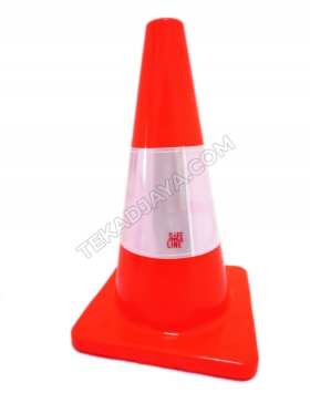 Traffic cone Rubber 45cm